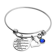 Meibai <b>2019</b> Graduation Gift <b>Stainless Steel</b> Charm Bracelet Senior ...