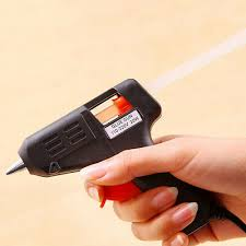 <b>20W</b> Hot Melt Glue Gun Electric <b>Heating</b> Sticks Trigger Art Craft ...