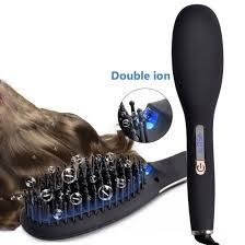 China Professional Ionic Infrared <b>Hair</b> Straightener <b>Brush Fast</b> ...