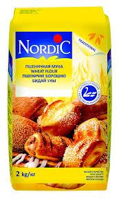 <b>Мука Nordic пшеничная</b>, <b>2</b> кг - купить с доставкой по Москве и ...