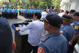 pnp explains why rogue cops were shamed on tv inquirer news president rodrigo roa duterte orders the police officers facing administrative charges to be detailed in basilan