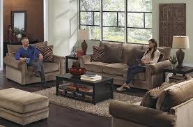 Oversized Living Room Furniture Oversized Rolled Arm Chair By Jackson Furniture Wolf And