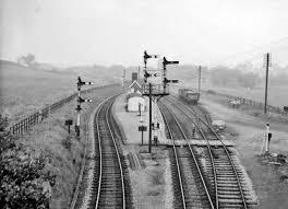 Broom Junction railway station