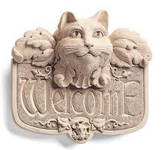<b>Gothic Cat</b> Welcome -- Carruth Studio: Waterville, OH