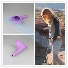 1pcs Women Urinal Travel kit Outdoor Camping Soft ... - Qoo10