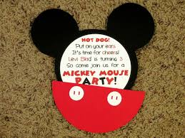 beautiful mickey mouse invitations party city birthday party charming how to make mickey mouse party invitations mickey mouse clubhouse birthday party invitation ideas