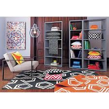 facet grey bookcase in office furniture cb2 cb2 office