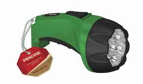 <b>Фонарь аккумуляторный светодиодный Рекорд</b> РМ-0107 Green