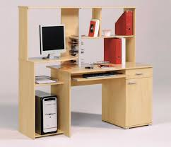 solid cherry wood computer office desks with hutch for easy arrangement office furniture cherry office furniture