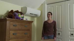 Mitsubishi Ductless Heat Pump Energy Efficiency Ductless Heat Pumps Youtube