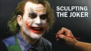 The Joker <b>Sculpture</b> Timelapse - The Dark Knight - YouTube