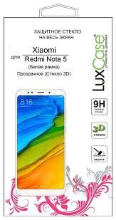 Купить Защитное стекло <b>LuxCase 3D</b> для Xiaomi Redmi Note 5 ...