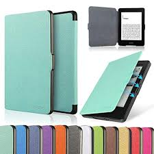HAOCOO Ultra <b>Slim Leather</b> Smart <b>Case Cover</b> Build in <b>Magnetic</b>
