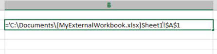 using external cell references in excel  dummies all external cell references have the same component parts as follows