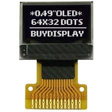 """<b>0.49</b>"""" <b>OLED Display</b> Module 64x32 Pixel,SSD1306,SPI I2C,White on ..."""