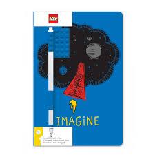 <b>Lego Classic</b> Книга для записей Imagine с ручкой - Акушерство.Ru