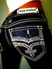 <b>Джинсы Rock Revival</b> внутренний шов 29 для женский | eBay