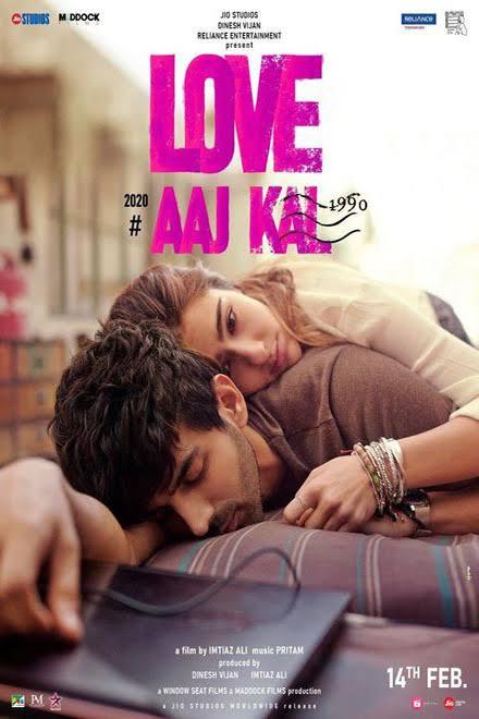 Love Aaj Kal (2020) Hindi Full Movie  ORGINAL HDRip Download - 720p - x264 - AAC - 1.2GB Download