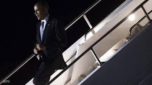 الرياض - أوباما يلتقي العاهل السعودي يرافقه وفد كبير يضم جمهوريين