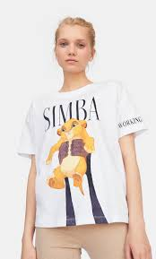 Disney <b>Lion King t-shirt</b> - Women's Best of sale | Stradivarius Turkey