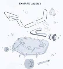 exmark mower parts ref