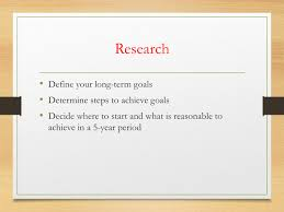 developing a five year research plan cred library asha full size