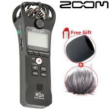 <b>Black ZOOM H1N</b> professional music meeting recorder SLR micro ...