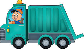 Image result for rubbish truck clipart for free