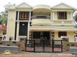 Modern Duplex House Plans India Duplex House Design   n style