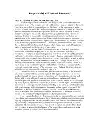 undergraduate essay examples personal statement undergraduate sample   bunny berke real estate  personal statement undergraduate sample