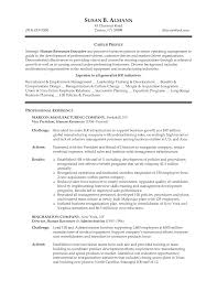 resources manager resume example hr  seangarrette co   sample human resources resume getblownco