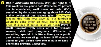 Wikipedia has a ton of money. So why is it begging you to donate ...