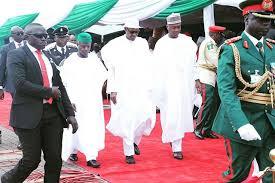 Image result for Buhari, Osinbajo, saraki