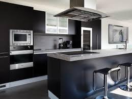 Of Kitchen Appliances Kitchen Modern Kitchen With Black Appliances Black Kitchen