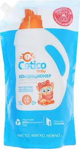 <b>Cotico</b> Baby <b>Кондиционер</b>-ополаскиватель для <b>детского</b> белья 1 л