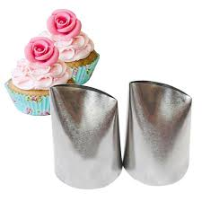 2019 #874 Large Size Rose Icing <b>Piping</b> Nozzles Cake Cream ...