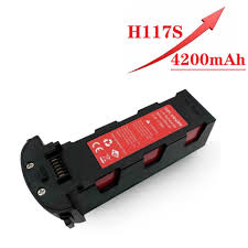 Upgrade <b>11.4v</b> 4200mAh Battery for Hubsan H117S Zino GPS <b>RC</b> ...