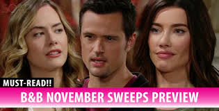 The Bold And The Beautiful Spoilers: Thrilling November Sweeps ...