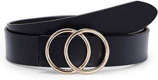fashion design belts black pu
