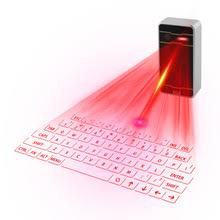 chyi virtual keyboard wireless bluetooth laser projection keypad ergonomic mini mouse function for pc smart phone tablet tv box