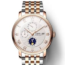 <b>Switzerland LOBINNI</b> Men Watches <b>Luxury Brand</b> Wristwatches ...