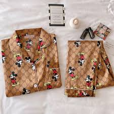 <b>spring</b> and autumn <b>ladies</b> pajamas cartoon - Online Shopping for ...