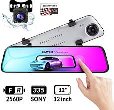 DMYCO Backup Camera Car Mirror Dash Cam,12 ... - Amazon.com
