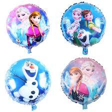 1Pcs 18inch Elsa and Anna <b>Princess foil balloon helium balloon</b> ...