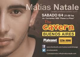 Matias Ezequiel Natale. ¿Quieres vender entradas de este evento? - matias-natale-sabado-6-de-abril-21-hs-bsas-tour-2013-latinoamerica