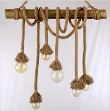 2016 new design luxury retro industrial rope pendant lamp loft lights edison vintage restaurant living bar cheap industrial lighting