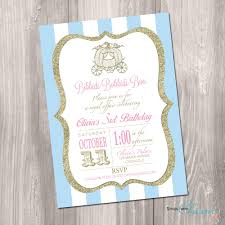 cinderella birthday invitation princess birthday invitation 128270zoom