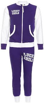 <b>Спортивный костюм</b> детский <b>Lucky</b> Child, цвет: фиолетовый ...