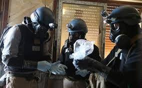 Image result for 100 درصد ذخایر شیمیایی سوریه نابود شد
