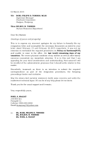 resignation letterresignation letter   march to  roel felipe d  torres  mlis supervisor manager poorfoods corporation